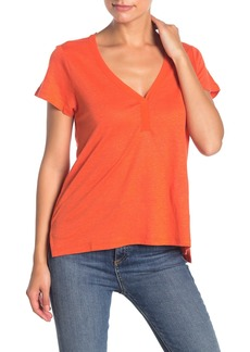 Sanctuary Astrid V-Neck Linen Tee