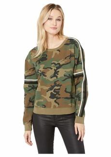 Sanctuary Backtrack Camo Fleece Sweatshirt
