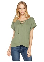 Sanctuary Beach Comber Lace-Up Hoodie