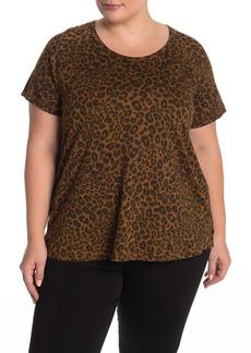 Sanctuary Beacon Leopard Print T-Shirt (Plus Size)
