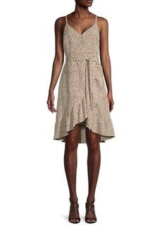 Sanctuary Bianca Leopard-Print Midi Dress