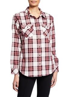 Sanctuary Boyfriend for Life Plaid Shirt