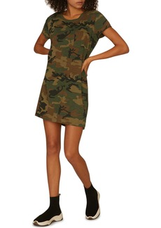 Sanctuary Camo Print T-Shirt Dress