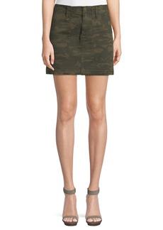 Sanctuary Camouflage Released-Hem Mini Skirt