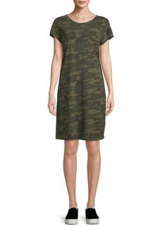 Sanctuary Camouflage T-Shirt Dress