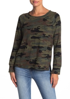 Sanctuary Camp Camo Step Pullover
