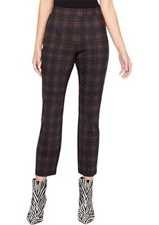 Sanctuary Carnaby Kick Crop in Redwood Plaid