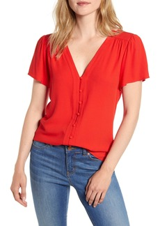 Sanctuary Casey Button-Up Top