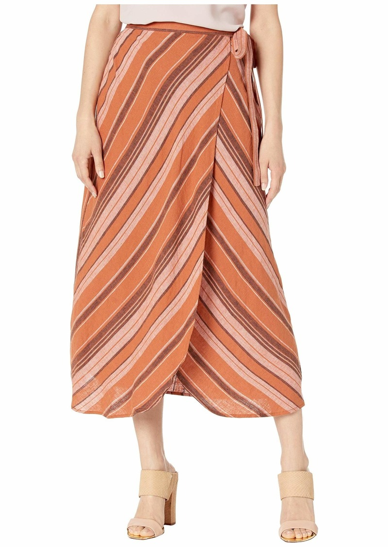 Sanctuary Catching Rays Faux Wrap Skirt