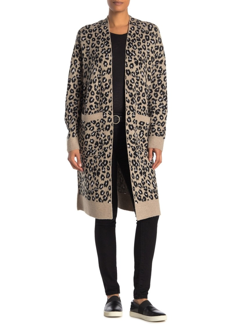Sanctuary Cat's Meow Leopard Print Cardigan