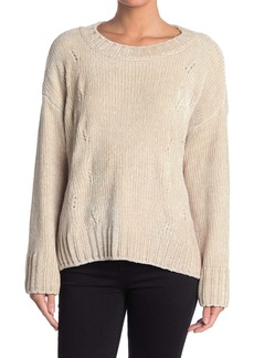 Sanctuary Chenille Cable Knit Sweater