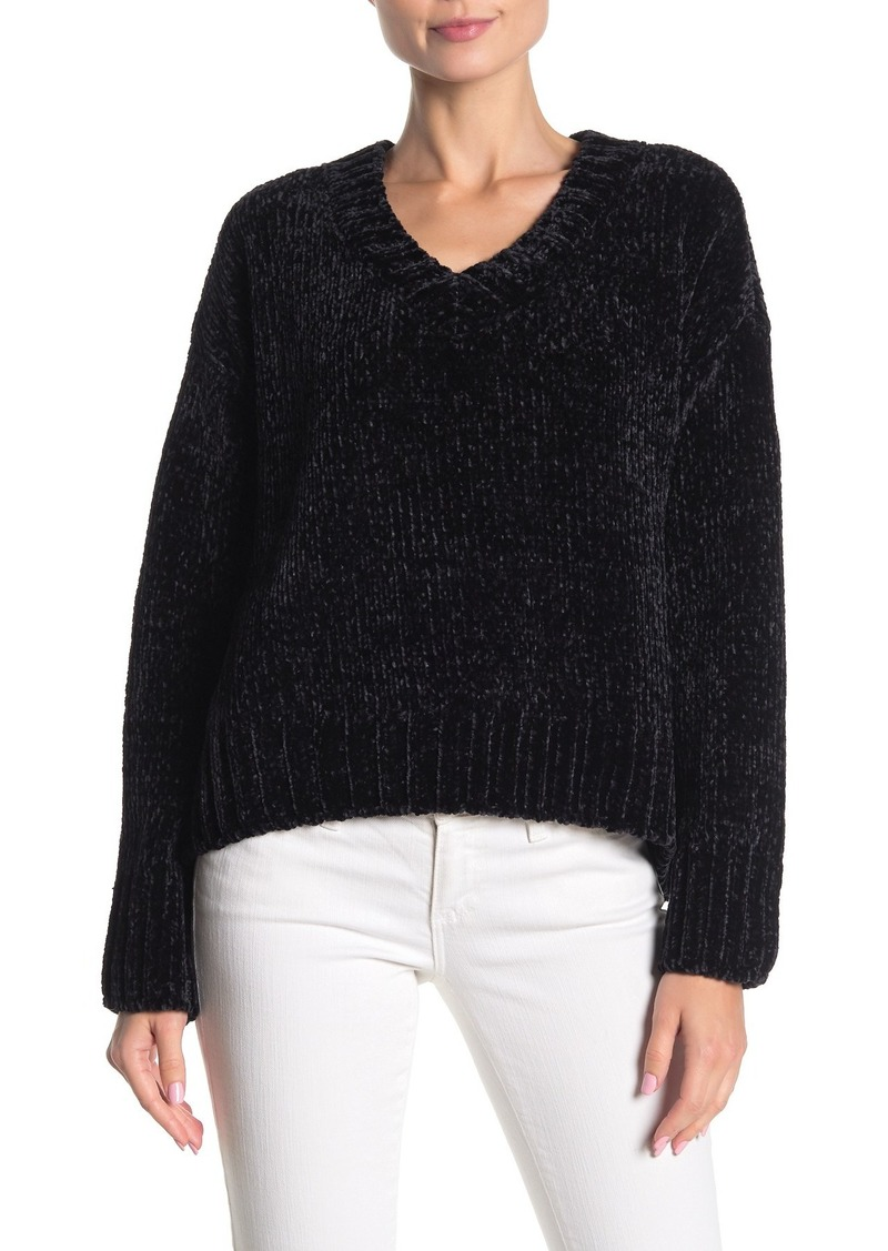 Sanctuary V-Neck Chenille Sweater
