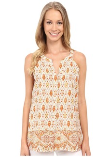 Sanctuary Collage Shell Top