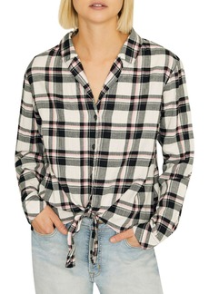 Sanctuary Colton Plaid Shirt (Regular & Petite)