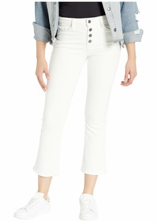 Sanctuary Connector Kick Crop Exposed Fly Jeans in Angeleno White