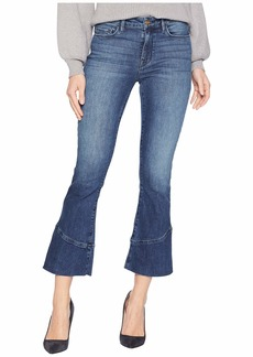 Sanctuary Connector Kick Crop Jeans in District Blue
