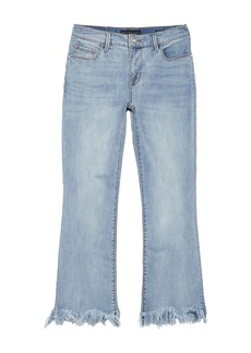 Sanctuary Connector Kick Flare Frayed Crop Jeans