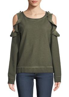 Sanctuary Cordelia Cold Shoulder Sweatshirt