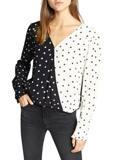 Sanctuary Cori Printed Blouse
