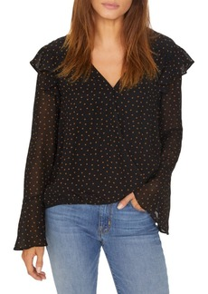 Sanctuary Cori Ruffle Wrap Blouse