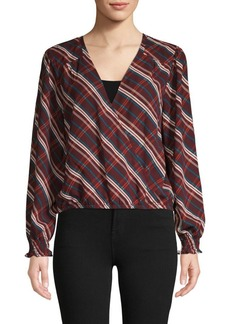Sanctuary Cori Wrap Blouse