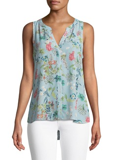 Sanctuary Craft Floral-Print Shell Tank Top