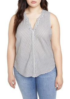 Sanctuary Craft Stripe Sleeveless Top
