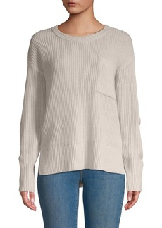 Sanctuary Crewneck High-Low Sweater