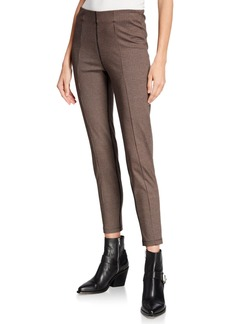 Sanctuary Cropped Houndstooth-Plaid Leggings
