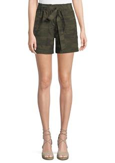 Sanctuary Daydreamer Camouflage Tie-Waist Shorts