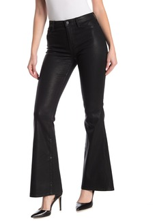 Sanctuary Demi Coated High Waisted Bootcut Jeans