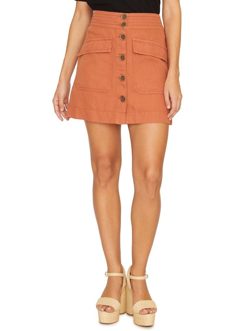 Sanctuary Desert Button Front Mini Skirt