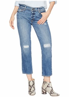 Sanctuary Disrupt Rip & Repair Boy Jeans in Flat Iron Rigid