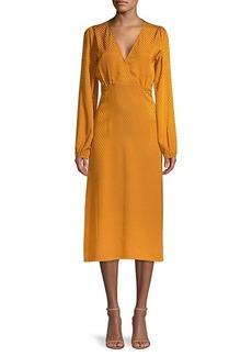 Sanctuary Dot-Print Midi Dress