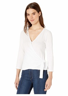 Sanctuary Emelie Textured Wrap Top