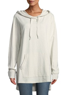 Sanctuary Essex Kangaroo Pocket Cotton Hoodie Tunic
