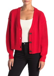 Sanctuary Fall For It Shaker Stitch Cardigan (Regular & Petite)