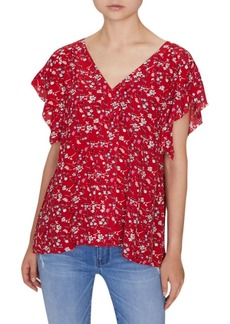 Sanctuary Floral V-Neck Top