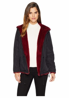 Sanctuary Fur Snug Mini Parka Jacket