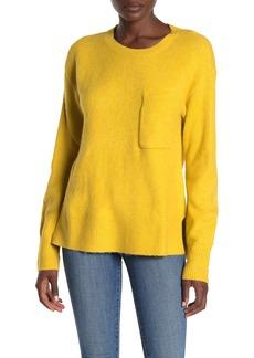 Sanctuary Fuzzy Knit Pocket Sweater