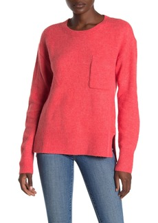Sanctuary Fuzzy Knit Pocket Sweater