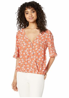 Sanctuary Garden Party Wrap Top