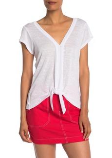 Sanctuary Ingrid Tie Front Shirt