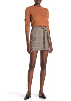 Sanctuary Inland Plaid Mini Skirt