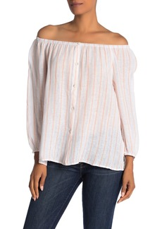 Sanctuary Iris Ballet Neck Top