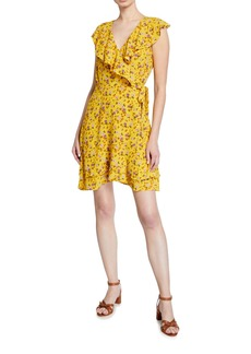 Sanctuary Johanna Floral Wrap Dress