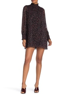 Sanctuary Kat Dotted Long Sleeve Dress (Regular & Petite)