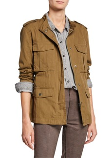 Sanctuary Kinship Patch-Pocket Surplus Jacket