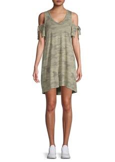 Sanctuary Lakeside Camo-Print T-Shirt Dress