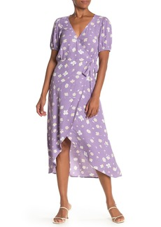 Sanctuary Meadow Wrap Midi Dress